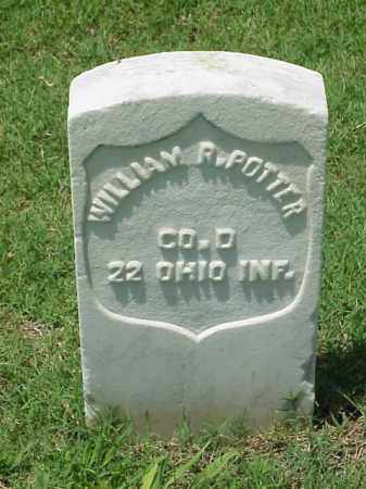 POTTER (VETERAN UNION), WILLIAM R - Pulaski County, Arkansas | WILLIAM R POTTER (VETERAN UNION) - Arkansas Gravestone Photos