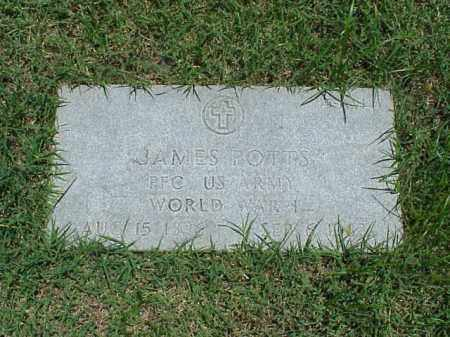 POTTS (VETERAN WWI), JAMES - Pulaski County, Arkansas | JAMES POTTS (VETERAN WWI) - Arkansas Gravestone Photos
