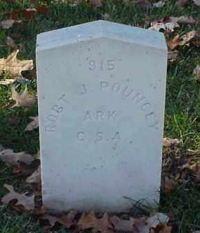 POUNCEY (VETERAN CSA), ROBERT J - Pulaski County, Arkansas | ROBERT J POUNCEY (VETERAN CSA) - Arkansas Gravestone Photos