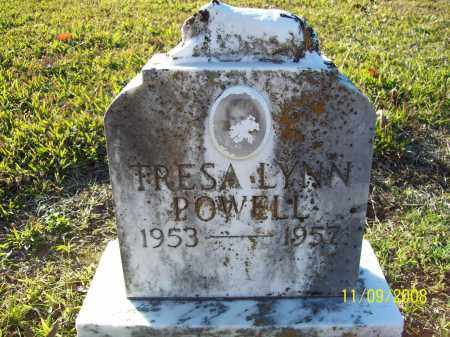 POWELL, TRESA LYNN - Pulaski County, Arkansas | TRESA LYNN POWELL - Arkansas Gravestone Photos
