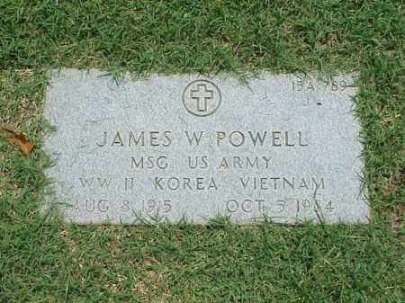 POWELL (VETERAN 3 WARS), JAMES W - Pulaski County, Arkansas | JAMES W POWELL (VETERAN 3 WARS) - Arkansas Gravestone Photos