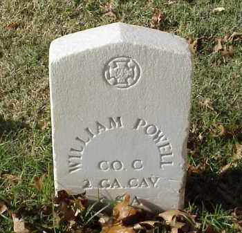 POWELL (VETERAN CSA), WILLIAM - Pulaski County, Arkansas | WILLIAM POWELL (VETERAN CSA) - Arkansas Gravestone Photos