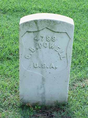 POWELL (VETERAN UNION), G B - Pulaski County, Arkansas | G B POWELL (VETERAN UNION) - Arkansas Gravestone Photos