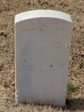 POWELL (VETERAN UNION), MARSHALL - Pulaski County, Arkansas | MARSHALL POWELL (VETERAN UNION) - Arkansas Gravestone Photos