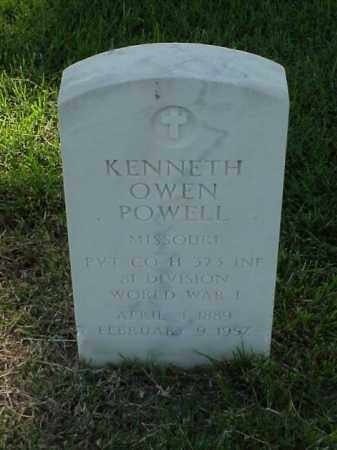 POWELL (VETERAN WWI), KENNETH OWEN - Pulaski County, Arkansas | KENNETH OWEN POWELL (VETERAN WWI) - Arkansas Gravestone Photos