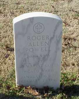 POWELL (VETERAN WWI), ROGER ALLEN - Pulaski County, Arkansas | ROGER ALLEN POWELL (VETERAN WWI) - Arkansas Gravestone Photos