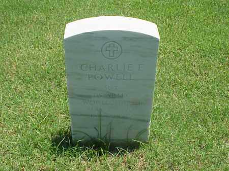 POWELL (VETERAN WWII), CHARLIE E - Pulaski County, Arkansas | CHARLIE E POWELL (VETERAN WWII) - Arkansas Gravestone Photos