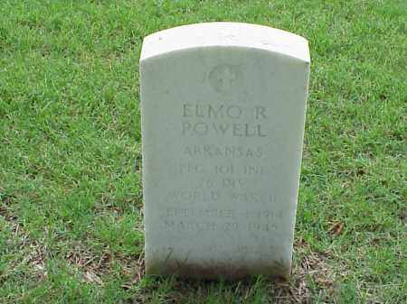 POWELL (VETERAN WWII), ELMO R - Pulaski County, Arkansas | ELMO R POWELL (VETERAN WWII) - Arkansas Gravestone Photos