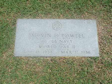 POWELL (VETERAN WWII), MELVIN O - Pulaski County, Arkansas | MELVIN O POWELL (VETERAN WWII) - Arkansas Gravestone Photos