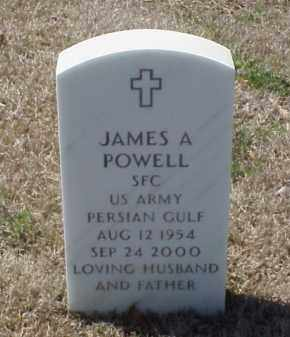 POWELL (VETERAN PGW), JAMES A - Pulaski County, Arkansas | JAMES A POWELL (VETERAN PGW) - Arkansas Gravestone Photos