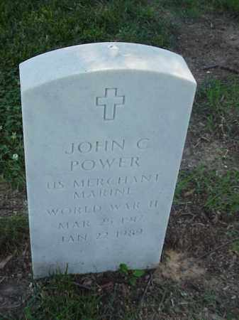 POWER (VETERAN WWII), JOHN C - Pulaski County, Arkansas | JOHN C POWER (VETERAN WWII) - Arkansas Gravestone Photos