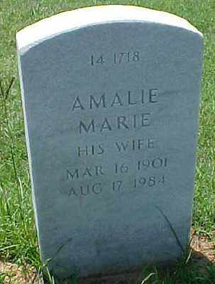 POWERS, AMALIE MARIE - Pulaski County, Arkansas | AMALIE MARIE POWERS - Arkansas Gravestone Photos