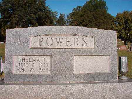 POWERS, THELMA T - Pulaski County, Arkansas | THELMA T POWERS - Arkansas Gravestone Photos