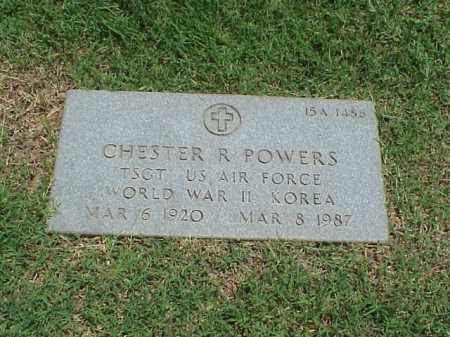 POWERS (VETERAN 2 WARS), CHESTER R - Pulaski County, Arkansas | CHESTER R POWERS (VETERAN 2 WARS) - Arkansas Gravestone Photos
