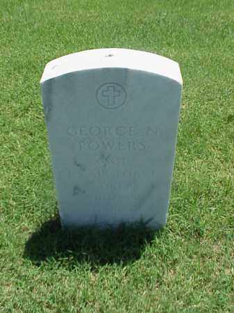 POWERS (VETERAN 2 WARS), GEORGE N - Pulaski County, Arkansas | GEORGE N POWERS (VETERAN 2 WARS) - Arkansas Gravestone Photos