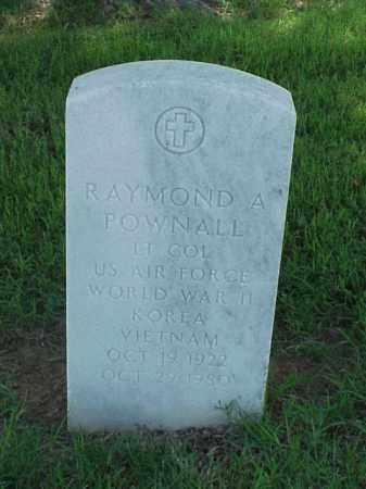 POWNALL (VETERAN 3 WARS), RAYMOND A - Pulaski County, Arkansas | RAYMOND A POWNALL (VETERAN 3 WARS) - Arkansas Gravestone Photos