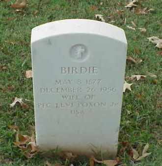 POXON, BIRDIE - Pulaski County, Arkansas | BIRDIE POXON - Arkansas Gravestone Photos
