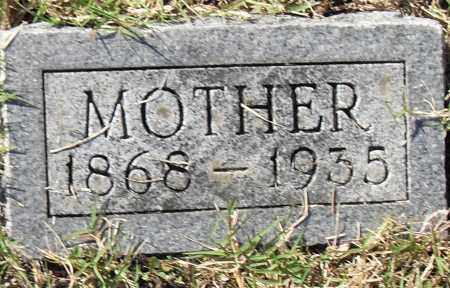 PRATHER, UNKNOWN - Pulaski County, Arkansas | UNKNOWN PRATHER - Arkansas Gravestone Photos