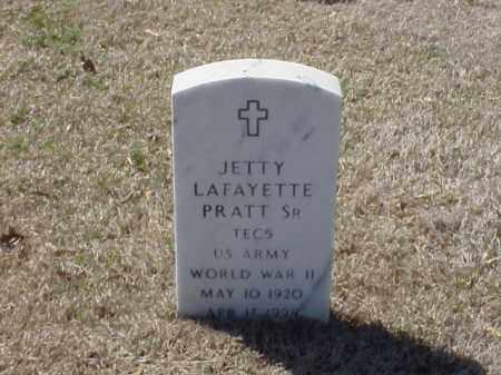 PRATT, SR (VETERAN WWII), JETTY LAFAYETTE - Pulaski County, Arkansas | JETTY LAFAYETTE PRATT, SR (VETERAN WWII) - Arkansas Gravestone Photos