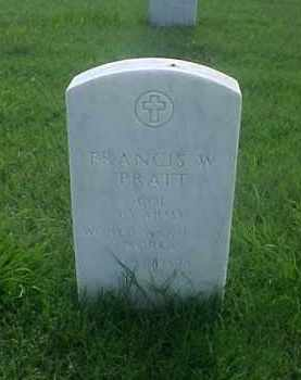 PRATT (VETERAN 3 WARS), FRANCIS W - Pulaski County, Arkansas | FRANCIS W PRATT (VETERAN 3 WARS) - Arkansas Gravestone Photos