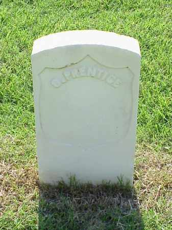 PRENTICE (VETERAN UNION), G - Pulaski County, Arkansas | G PRENTICE (VETERAN UNION) - Arkansas Gravestone Photos