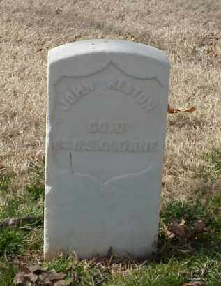 PRESTON (VETERAN UNION), JOHN - Pulaski County, Arkansas | JOHN PRESTON (VETERAN UNION) - Arkansas Gravestone Photos