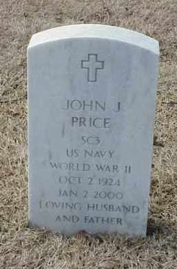 PRICE  (VETERAN  WWII), JOHN J - Pulaski County, Arkansas | JOHN J PRICE  (VETERAN  WWII) - Arkansas Gravestone Photos