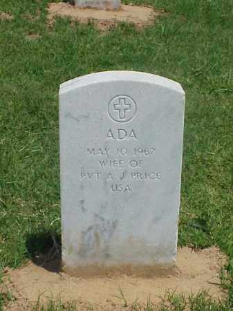 PRICE, ADA - Pulaski County, Arkansas | ADA PRICE - Arkansas Gravestone Photos