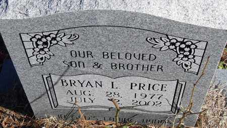 PRICE, BRYAN L - Pulaski County, Arkansas | BRYAN L PRICE - Arkansas Gravestone Photos