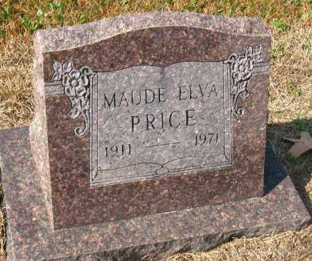 PRICE, MAUDE ELVA - Pulaski County, Arkansas | MAUDE ELVA PRICE - Arkansas Gravestone Photos