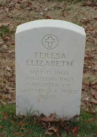 PRICE, TERESA ELIZABETH - Pulaski County, Arkansas | TERESA ELIZABETH PRICE - Arkansas Gravestone Photos