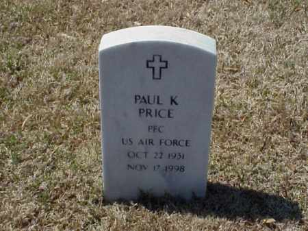 PRICE (VETERAN), PAUL K - Pulaski County, Arkansas | PAUL K PRICE (VETERAN) - Arkansas Gravestone Photos