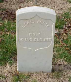 PRICE (VETERAN UNION), LEWIS - Pulaski County, Arkansas | LEWIS PRICE (VETERAN UNION) - Arkansas Gravestone Photos