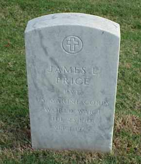 PRICE (VETERAN WWI), JAMES L - Pulaski County, Arkansas | JAMES L PRICE (VETERAN WWI) - Arkansas Gravestone Photos