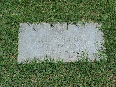 PRICE (VETERAN WWII), LLOYD G - Pulaski County, Arkansas | LLOYD G PRICE (VETERAN WWII) - Arkansas Gravestone Photos
