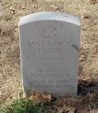 PRICE (VETERAN WWII), MARION T - Pulaski County, Arkansas | MARION T PRICE (VETERAN WWII) - Arkansas Gravestone Photos