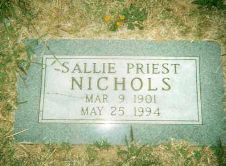 PRIEST, SALLIE - Pulaski County, Arkansas | SALLIE PRIEST - Arkansas Gravestone Photos