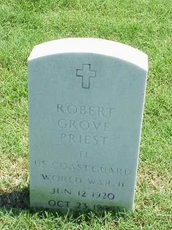PRIEST (VETERAN WWII), ROBERT GROVE - Pulaski County, Arkansas | ROBERT GROVE PRIEST (VETERAN WWII) - Arkansas Gravestone Photos