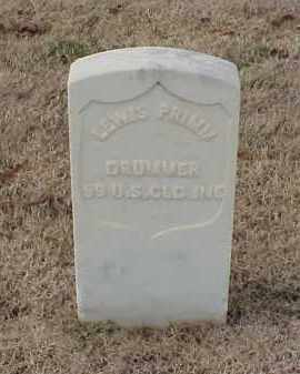 PRIMM (VETERAN UNION), LEWIS - Pulaski County, Arkansas | LEWIS PRIMM (VETERAN UNION) - Arkansas Gravestone Photos