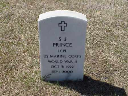 PRINCE  (VETERAN WWII), S J - Pulaski County, Arkansas | S J PRINCE  (VETERAN WWII) - Arkansas Gravestone Photos