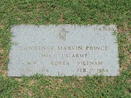 PRINCE (VETERAN 3 WARS), LAWRENCE MARVIN - Pulaski County, Arkansas | LAWRENCE MARVIN PRINCE (VETERAN 3 WARS) - Arkansas Gravestone Photos