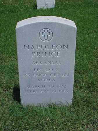 PRINCE (VETERAN KOR), NAPOLEON - Pulaski County, Arkansas | NAPOLEON PRINCE (VETERAN KOR) - Arkansas Gravestone Photos