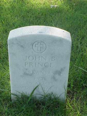 PRINCE (VETERAN WWI), JOHN B - Pulaski County, Arkansas | JOHN B PRINCE (VETERAN WWI) - Arkansas Gravestone Photos