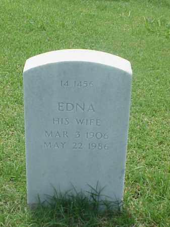 PRITCHARD, EDNA - Pulaski County, Arkansas | EDNA PRITCHARD - Arkansas Gravestone Photos