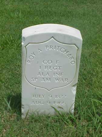 PRITCHARD (VETERAN SAW), ROY ARTHUR - Pulaski County, Arkansas | ROY ARTHUR PRITCHARD (VETERAN SAW) - Arkansas Gravestone Photos