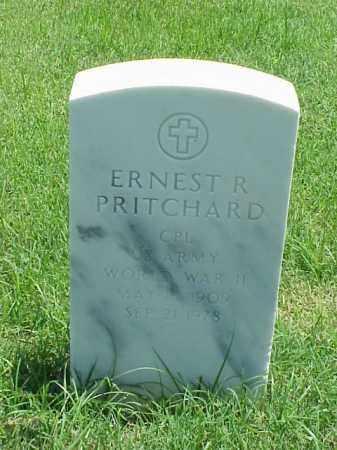 PRITCHARD (VETERAN WWII), ERNEST R - Pulaski County, Arkansas | ERNEST R PRITCHARD (VETERAN WWII) - Arkansas Gravestone Photos
