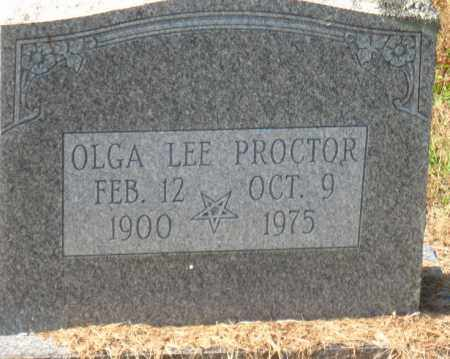 PROCTOR, OLGA LEE - Pulaski County, Arkansas | OLGA LEE PROCTOR - Arkansas Gravestone Photos