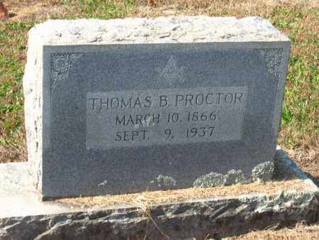 PROCTOR, THOMAS B - Pulaski County, Arkansas | THOMAS B PROCTOR - Arkansas Gravestone Photos
