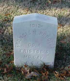 PROCTOR (VETERAN CSA), FRANCIS M - Pulaski County, Arkansas | FRANCIS M PROCTOR (VETERAN CSA) - Arkansas Gravestone Photos