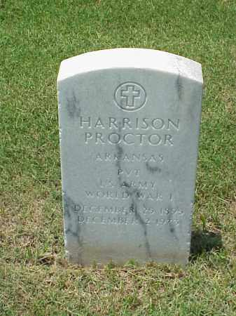 PROCTOR (VETERAN WWI), HARRISON - Pulaski County, Arkansas | HARRISON PROCTOR (VETERAN WWI) - Arkansas Gravestone Photos